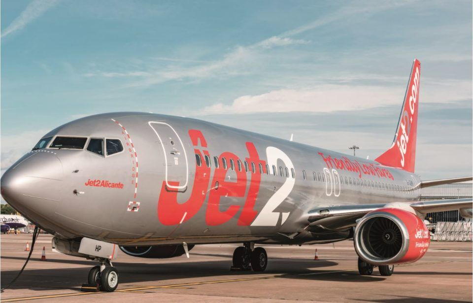 Following over 10 years using EFOS Jet2 signs another 5 year contract
