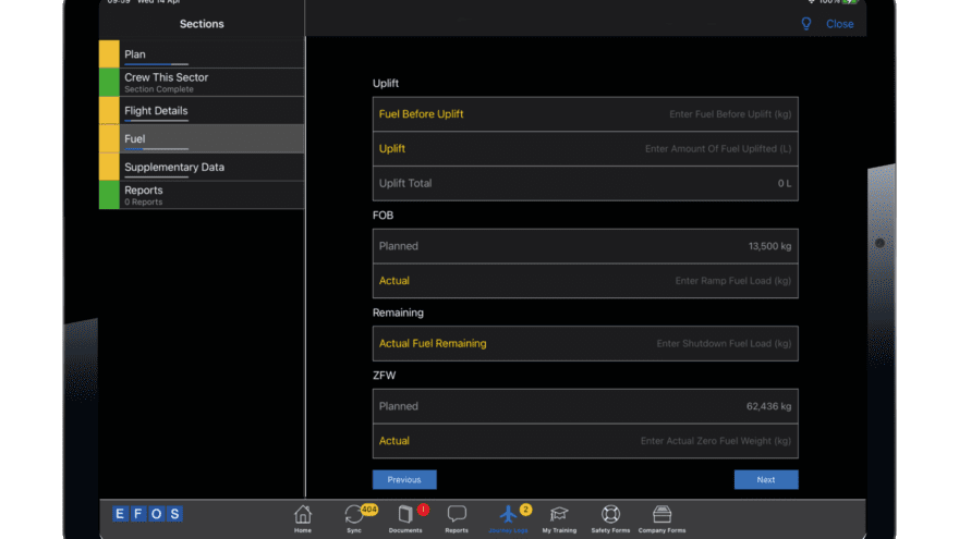 Developer Insight: Introducing the new Dark Mode for EFOS iPad